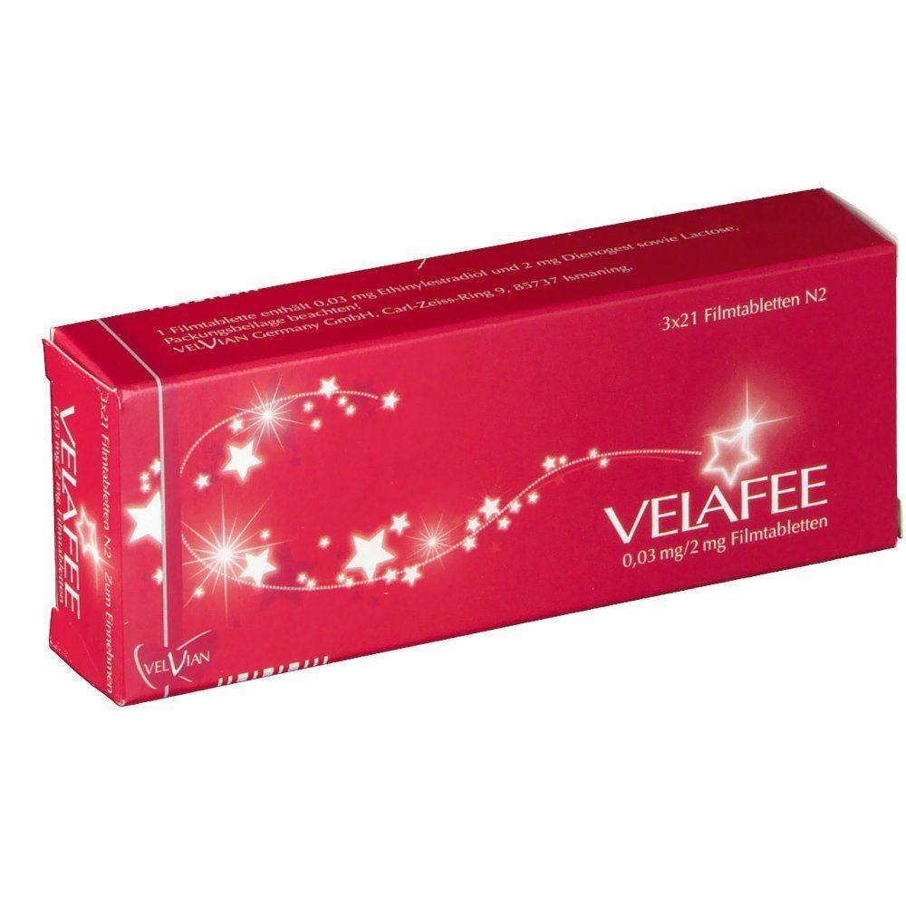 Velafee 6x21 Stück - bei PilleAbo.de bestellen.