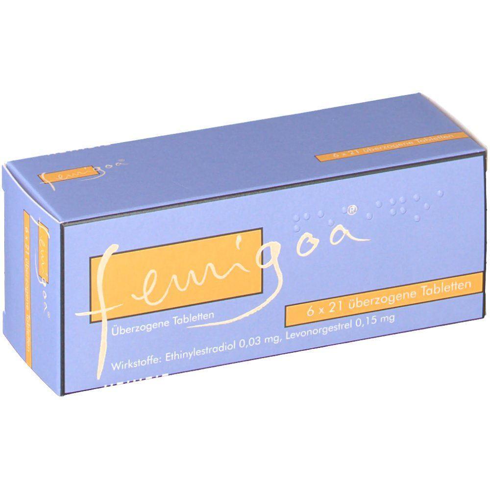 Femigoa 6x21 Stück - bei PilleAbo.de bestellen.
