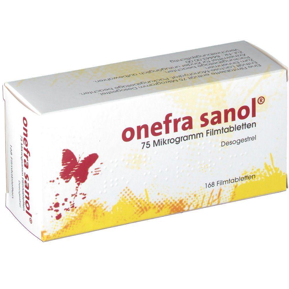Onefra sanol 75 6x28 Stück - bei PilleAbo.de bestellen.