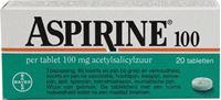 Bild von Aspirine 100 mg 20 tbl