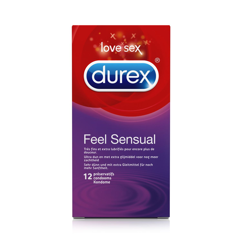 Durex Feel sensual 12 stk.