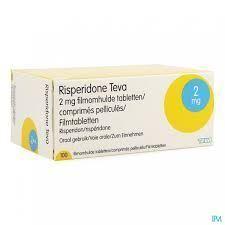 Risperidon Teva 2 mg 30 Filmtabletten