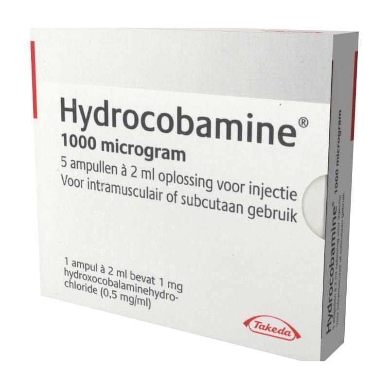Bild von Hydrocobamin 1000mcg amp 2ml  5 Stück
